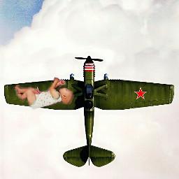 baby kid child childern airplane