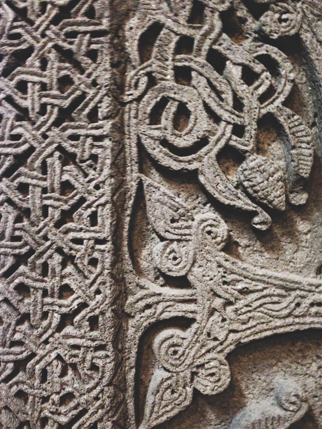 #khachkar #cross #stone #15 #century #Armenia #art #architecture #ornament #FreeToEdit