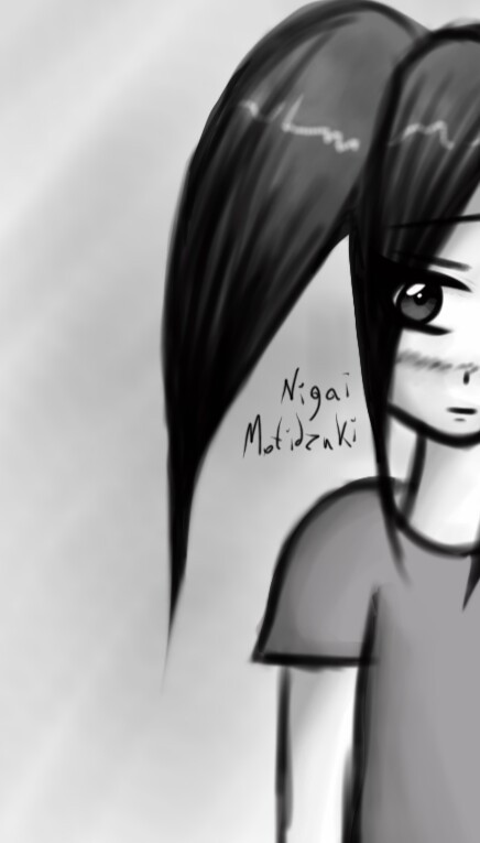 Night. Shine of lamp. My desire to draw.✏🌃😐 #blackandwhite  #art #sketch #girl #drawning #gray #anime #manga
