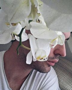 artisticselfie flower orchid pure white freetoedit