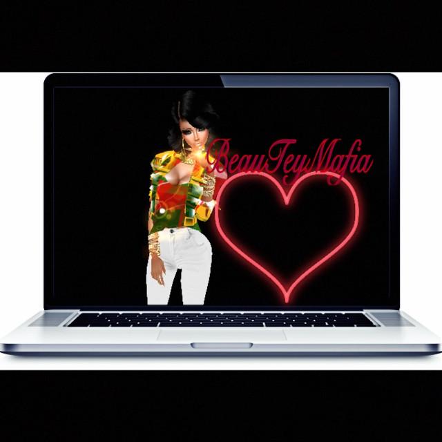 Super fun creating 💻 #computer ❤️#love for #musicmondays  🎼🗓 #3dme #beauteymafia #graphicarts #design #creative #images #innovative #idea #think #visualize #colors #blending #imvu #friends #socialmedia #influence #supporter #affiliate #music #style #fashion #love #musicfashion