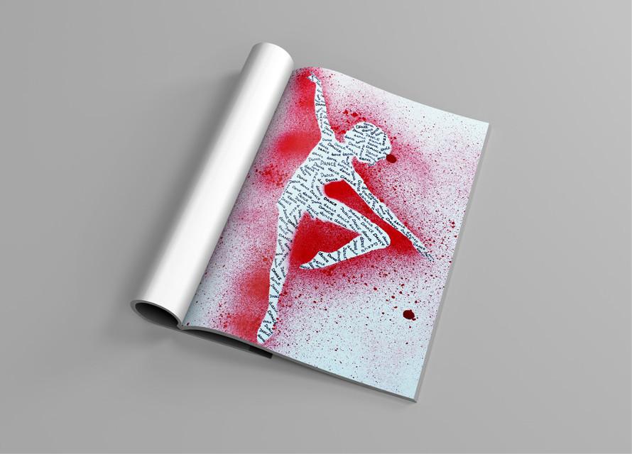 #colorsplash #drawing #quotesandsayings #red #dance #colorful #emotions #people #girl #women #sprayer #grafity #grafityart #photography #pencilart #popart #magazine #rain #color #dream #stancilart #illustration  #cover