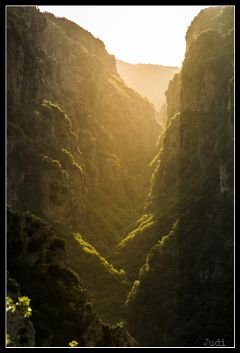 vikos canyon epirus mountains greece