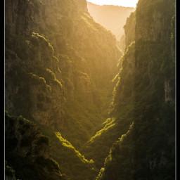 vikos canyon epirus mountains greece