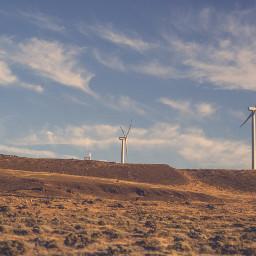 freetoedit nature wind windpower windmills