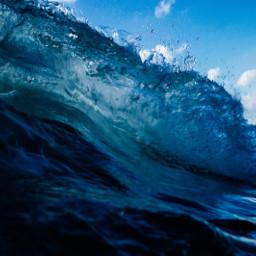freetoedit sea ocean beach wave