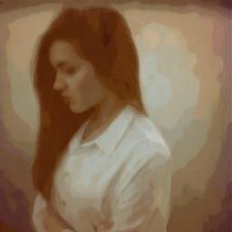 freetoedit girl picsart emotions