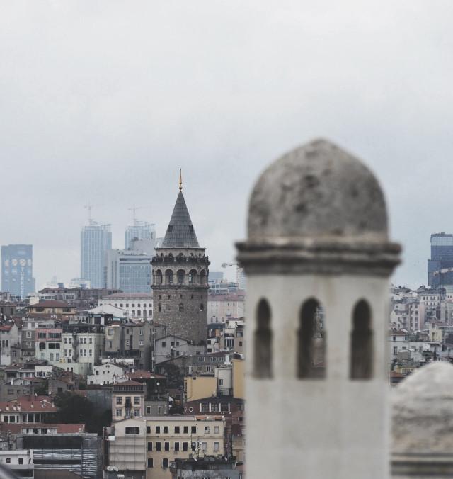 #istanbul #tower #travel #landscape #city #streetphotography