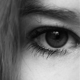 eye blackandwhite canon 1000d