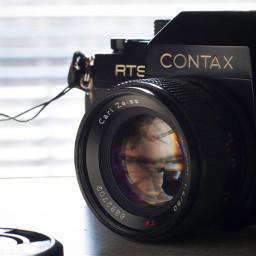 contax rts planar 50mm camera