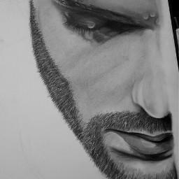 art blackandwhite drawing fineart portrait