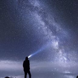 freetoedit portrait sky star light
