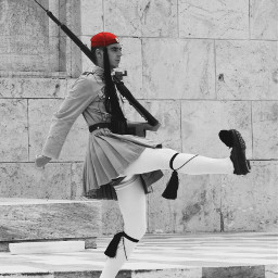 evzones guards colorsplash photography emotions blackandwhite people history greece athens travel