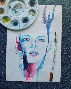 colorsplash watercolor pencilart paint artist freetoedit