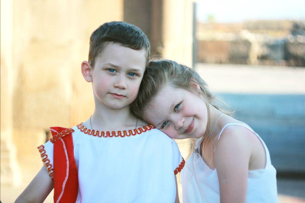 #children #boy #girl #friends #blueyes #cute #portrait