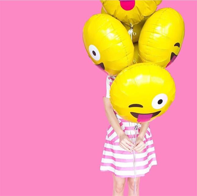#FreeToEdit #pink #imoji #yellow