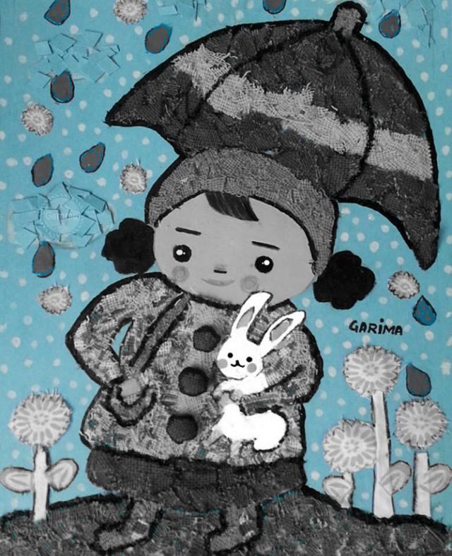 -Rainy Day- #handicraft #drawing #cute