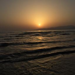 summer sky beach sunset