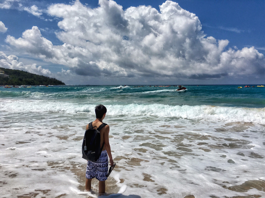 #photography #summer #beach #travel #sea #sky #kenting #taiwan