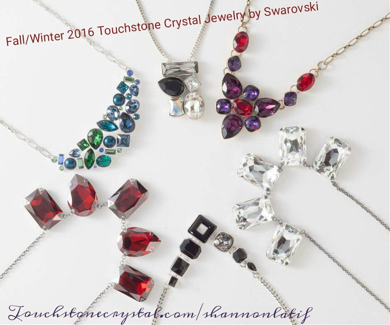 Gorgeous sneak peek of the New Fall/Winter 2016 Touchstone Crystal Jewelry by Swarovski the catalog is rich and feel in color. #touchstonecrystal #swarovski #shareit #bestjewels #dreamjob #colorful #livingthedream #getyourbling #yesplease #freejewelry #fashionfun