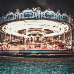 carousel france shutterspeed sky photography freetoedit