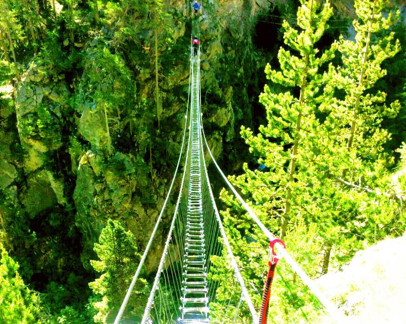 #FreeToEdit #nature #bridge #mountain #avventure