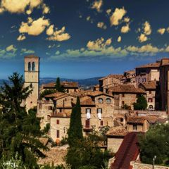 italy umbria assisi italianview roofs