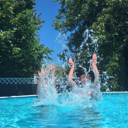 wppsummerblues pool spalsh