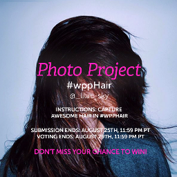 photography contest hair