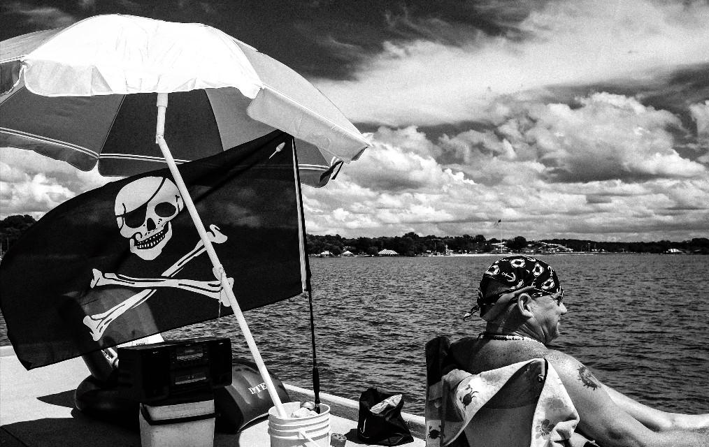 #blackandwhite #summer #people #streetphotography #pirate